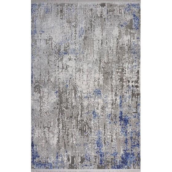 Angora Halı Optimum 8851R Gri - Mavi
