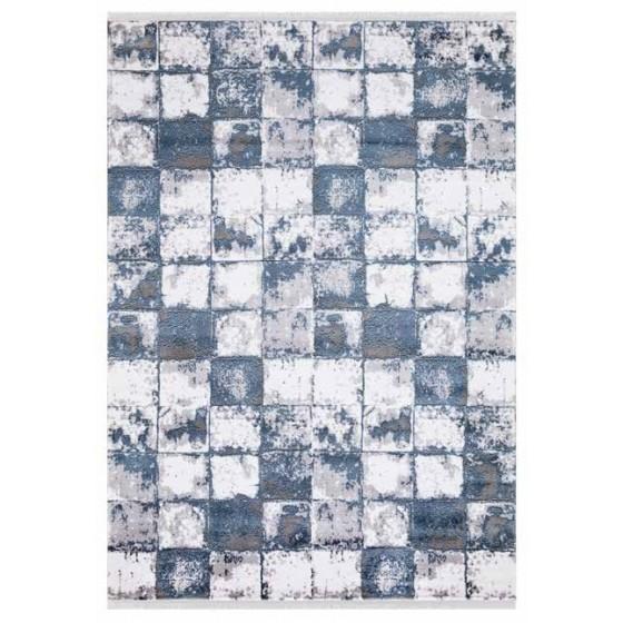 Angora Halı Evo 9468K Koyu Mavi - Gri