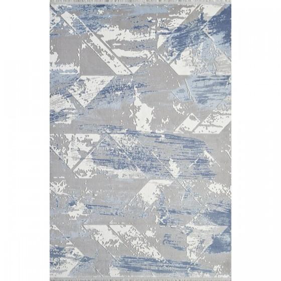 Gümüşsuyu Halı Viera 11338 U10 Mavi Özel Ölçü Kesme
