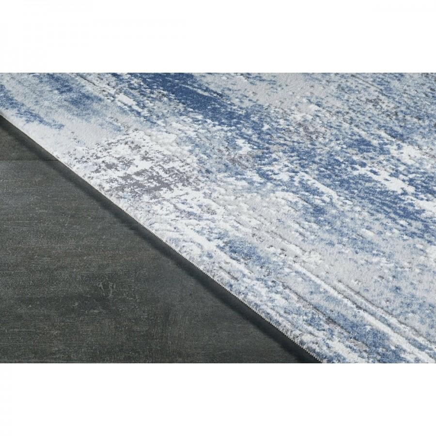 Gümüşsuyu Halı Viera 11600 U10 Mavi Özel Ölçü Kesme