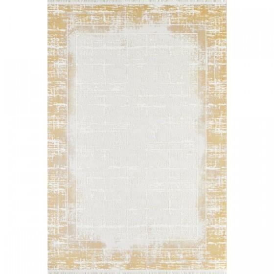 Gümüşsuyu Halı Viera 11607 S10 Sarı Özel Ölçü Kesme