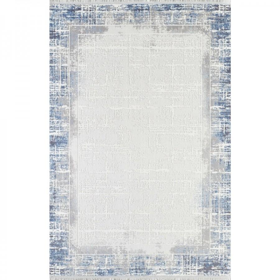 Gümüşsuyu Halı Viera 11607 U10 Mavi Özel Ölçü Kesme
